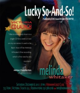 Melinda Whitaker Victoria- CD Launch